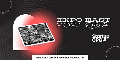 Startup CPG Expo East Q&A and free booth giveaway tickets