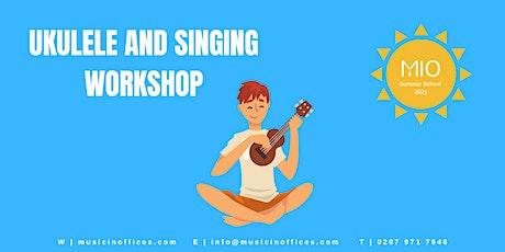 Ukulele and Singing Workshops with Jess Norton tickets