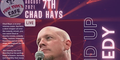 Yum Yums comedy night Chad Hays tickets