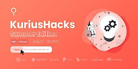 KuriusHacks: Summer Edition 2021 tickets