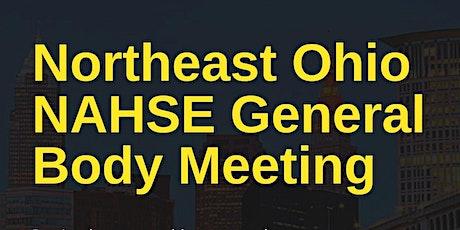 Northeast Ohio NAHSE Q3 General Body Meeting tickets