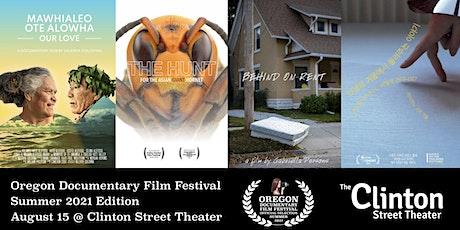 Oregon Documentary Film Festival Summer 2021 tickets