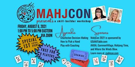 MahjCon Skill-Builder Workshop (virtual) tickets