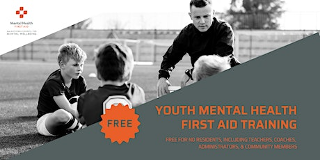 Youth MHFA for coaches, admins, teachers, & community members (virtual) tickets