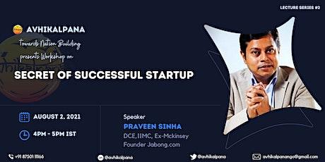 Secret of Successful Start-up tickets