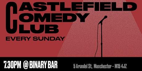Castlefield Comedy Club tickets