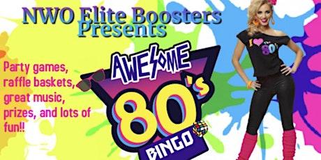 80's Flashback Purse Bingo tickets