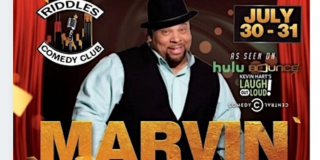 Marvin Hunter  and Vanessa Fraction at RIDDLES Presented by Damon Williams tickets