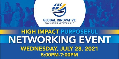 High Impact Purposeful Networking Event tickets