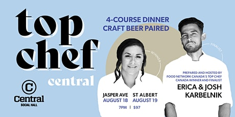 Four Course Dinner with Craft Beer Pairing hosted by TOP CHEF CANADA STARS tickets