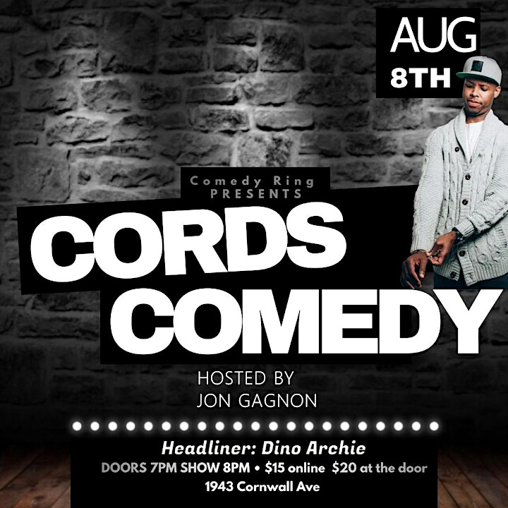 COMEDY RING Presents Cords Comedy image