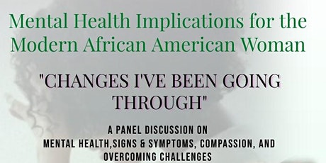 Mental Health Implications for the Modern African American Woman tickets