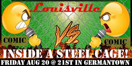 Roast War Championship - Louisville 2 tickets