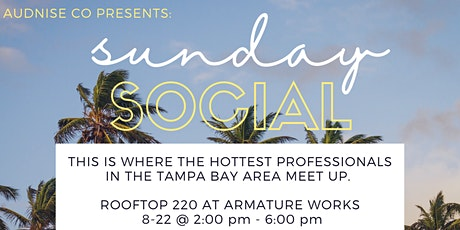 Sunday Social | Rooftop 220 | The Top Professionals in Tampa Bay tickets