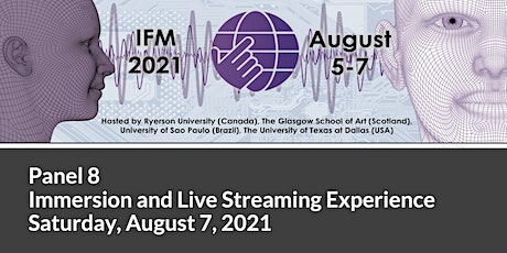 Interactive Film and Media Conference 2021 - Panel 8 tickets