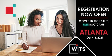 Women in Tech Sales Bootcamp (Virtual) - Atlanta, GA - October, 2021 tickets