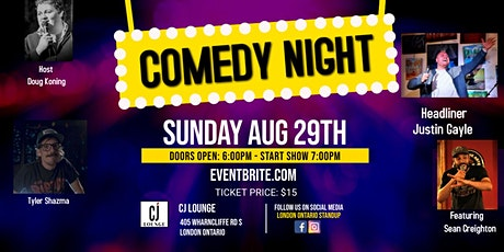 CJ Lounge Comedy Night Presents Justin Gayle tickets