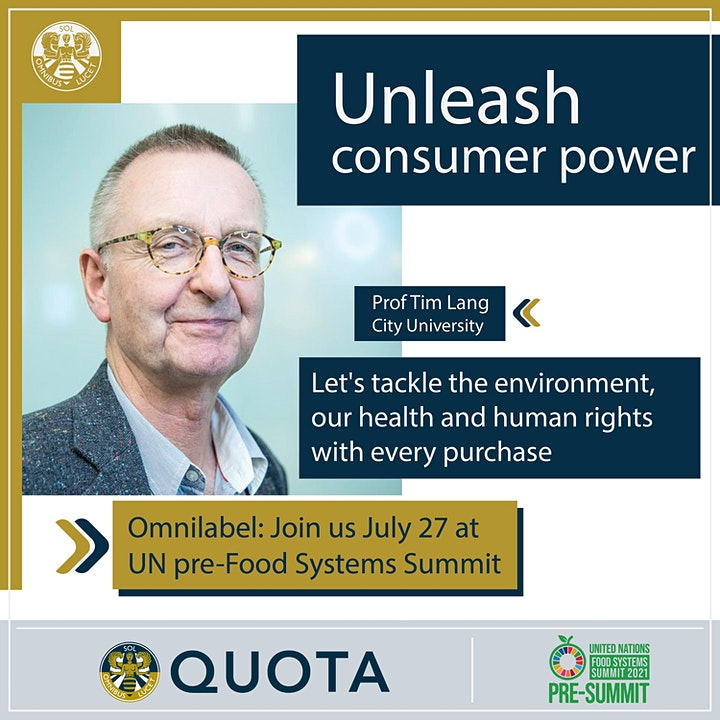 United Nations pre-Food Systems Summit: Unleash consumer power with Quota image