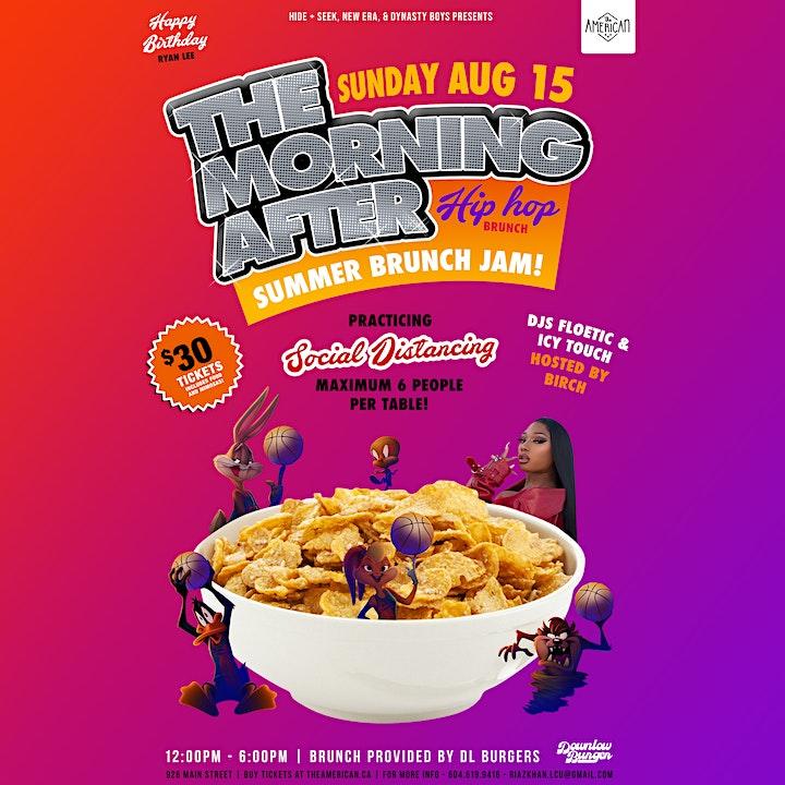 The Morning After Brunch-Summer Jam image