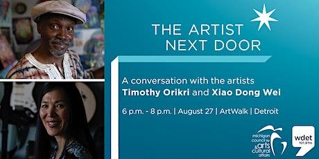 The Artist Next Door @ Art Walk tickets