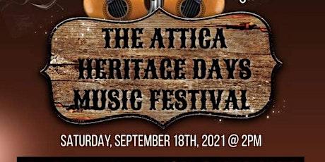 Attica Heritage Days Music Festival tickets