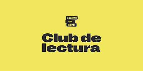 CLUB DE LECTURA DUL AGOSTO boletos