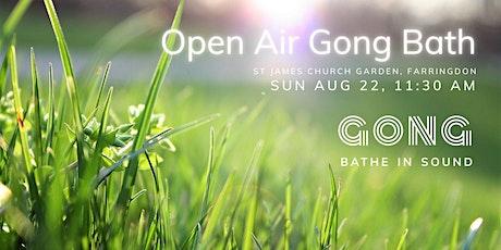 Open Air Gong Bath - Clerkenwell tickets