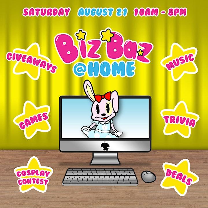 August's BizBaz @ Home! image