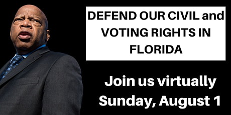 DEFEND OUR CIVIL and VOTING RIGHTS IN FLORIDA tickets