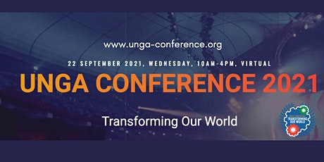 UNGA Conference 2021: Transforming Our World tickets