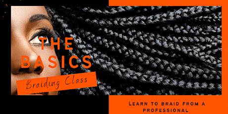 The Basics Braiding Class tickets