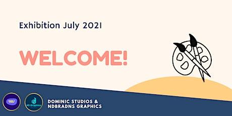 Dominic Studios Exhibition August 2021 tickets