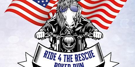 Ride 4 the Rescue - Poker Run Fundraiser tickets