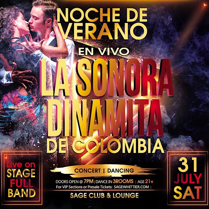 $10 Discount tickets. La Sonora Dinamita July 31 image