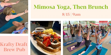 Mimosa Yoga, then Brunch | Krafty Draft tickets