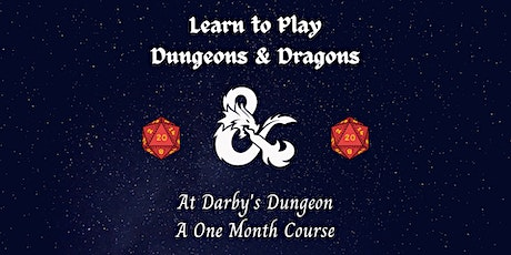 Learn to Play Dungeons and Dragons 5E tickets