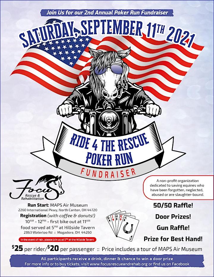 Ride 4 the Rescue - Poker Run Fundraiser image