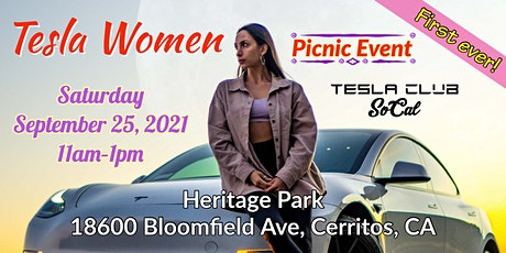 FIRST EVER Tesla Women Picnic Event (FREE) tickets