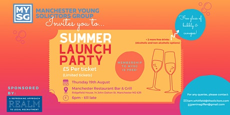 Summer Launch Party tickets