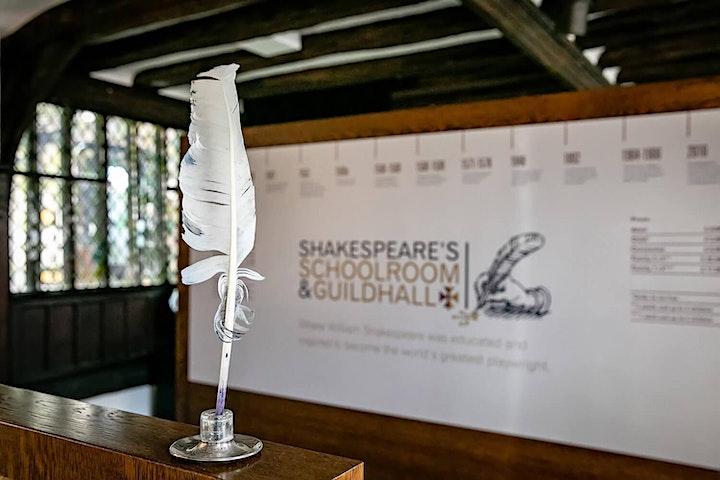 Shakespeare's Schoolroom Live - Edinburgh Fringe Online image