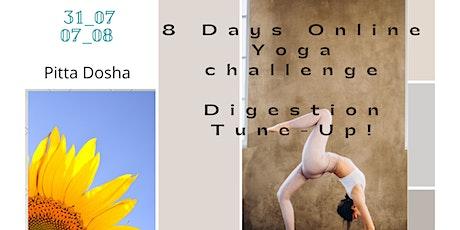 8 Days Yoga Challenge 'Digestion Tune up'! tickets