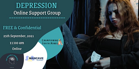 Depression Online Support Group tickets