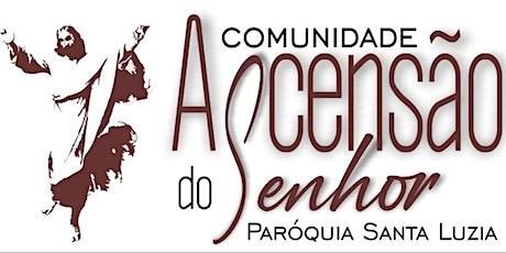 Missa - Com. Ascensão-DOMINGO 01/08 - (19:00) ingressos