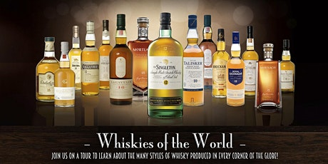 The Roosevelt Room's Master Class Series - Whiskies of the World tickets