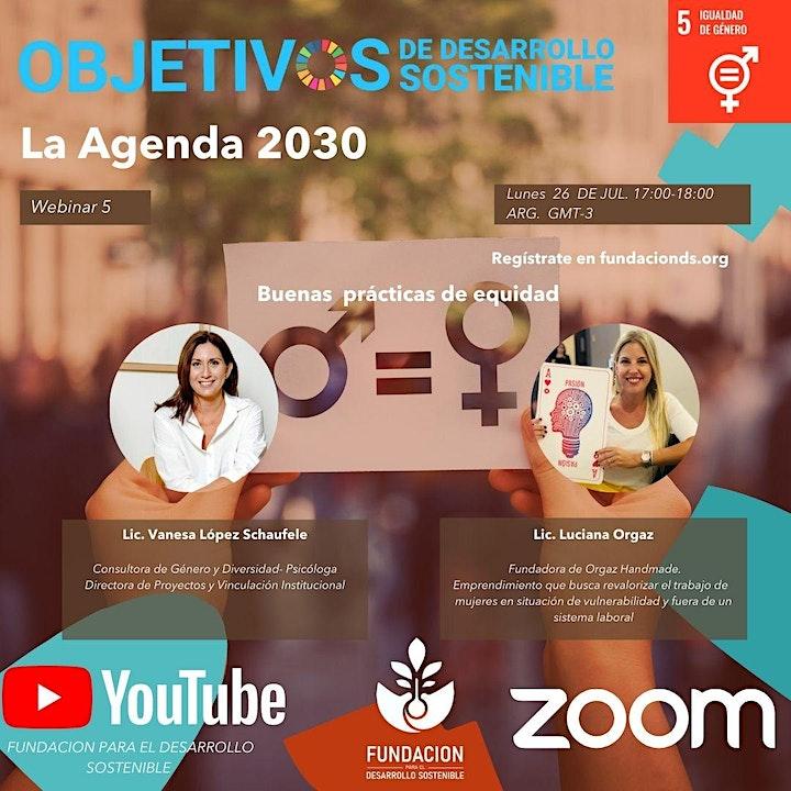 Imagen de CICLO DE WEBINARS : La Agenda  2030  17 ODS