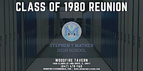Mather Class of 1980 Reunion tickets