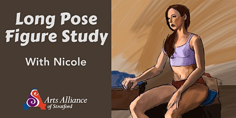 Long Pose Figure Study on Zoom tickets