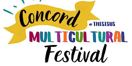2021 Concord Multicultural Festival - Commercial Food Vendor Registration tickets