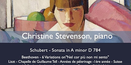 MoM Charity Concerts:  Christine Stevenson tickets
