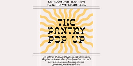 The Pantry Wellness Pop-Up tickets